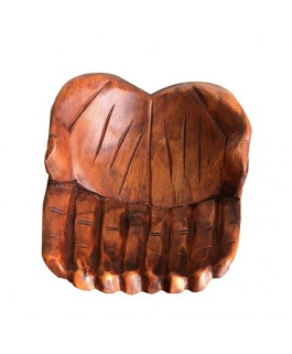 Decorative Bowl Wooden Hands
