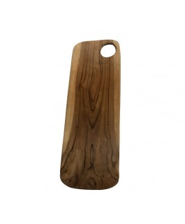 Irregular Cutting Board in Solid Teak Wood