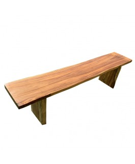 Irregular Bench in Exotic Suar Wood