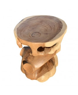 Teak Wood Design Root stool