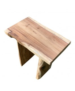 Irregular Stool in Exotic Suar Wood