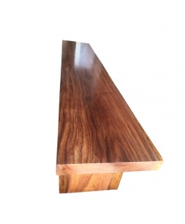 Narural Straight Bench in Suar Wood